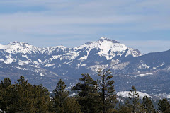 Mountains to the East of Pagosa Springs