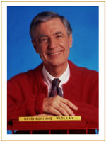 mister rogers and pbs and upenn and academy of television arts and sciences
