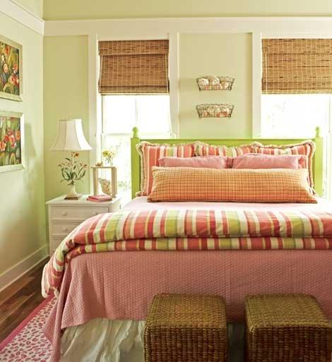 Arte e Decoração Decoração quartos de casal ~ Quarto Romantico Simples