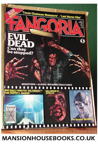 Fangoria #23, 1982, Tobe Hooper, Edwin Neal, Curtis Harrington interviews