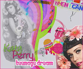 blend feito no photofiltre studio teenage dream modelo katy perry postado em mayara's blog