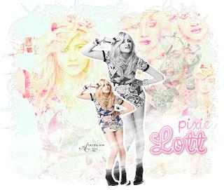 pixie lott blend photofiltre
