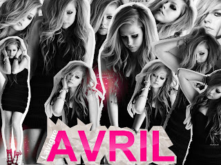collage wallpaper avril lavigne photofiltre studio