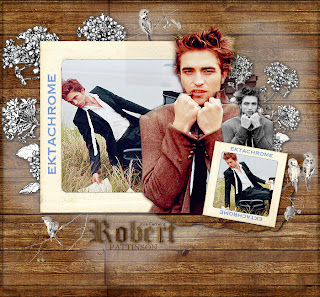 collage robert pattinson EKTACHROME pfs