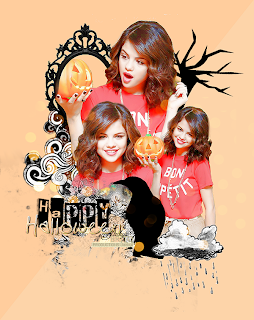 happy halloween blend de halloween selena gomez no photofiltre studio