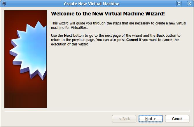 Membuat mesin baru pada VirtualBox