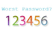 123456 password terburuk di dunia??