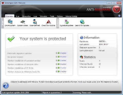 Ashampoo Anti-Malware 1.20