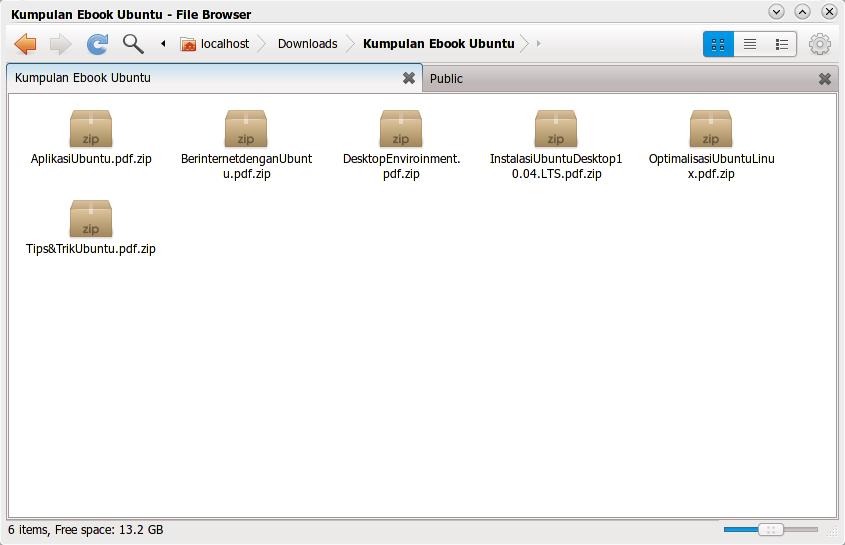 Kumpulan ebook Ubuntu berbahasa Indonesia