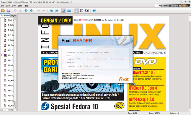 FoxitReader for Linux