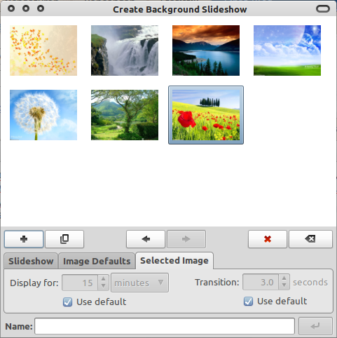 Create Background Slideshow di Ubuntu