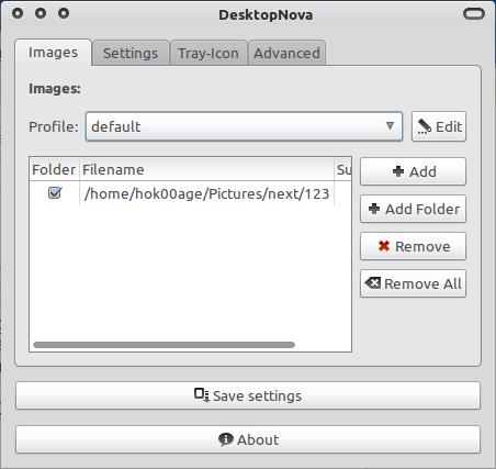 DesktopNova: Ganti wallpaper secara otomatis