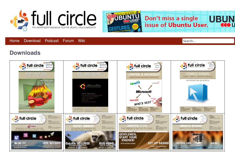 Full Circle Magazine: E-Magazine seputar Ubuntu