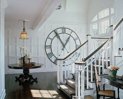 [staircase+and+clock]