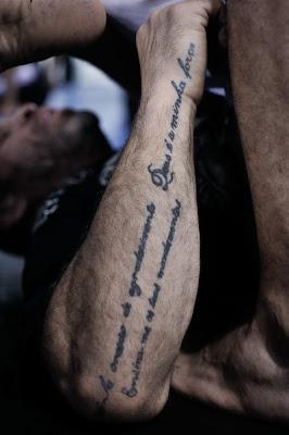 Wanderlei Silva: Right Arm Tattoo