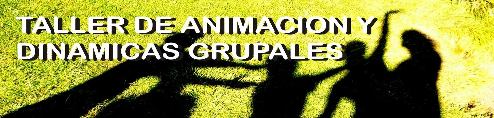 TALLER DE ANIMACION Y DINAMICAS GRUPALES