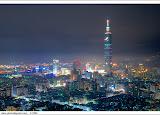 torre Taipei 101, em Taiwan. Sua forma foi inspirada num bambu