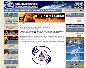 Pagina Oficial del movimiento 24 Horas AA.