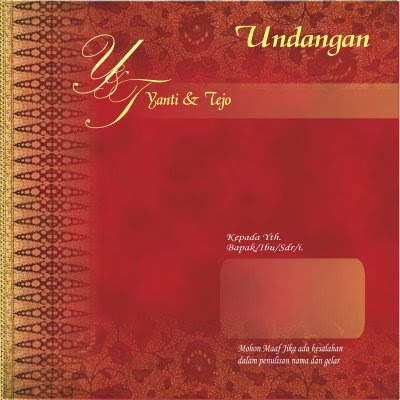 Design-Desain Undangan Pernikahan (Wedding Invitation)