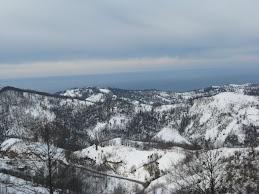 kar, deniz ve gök