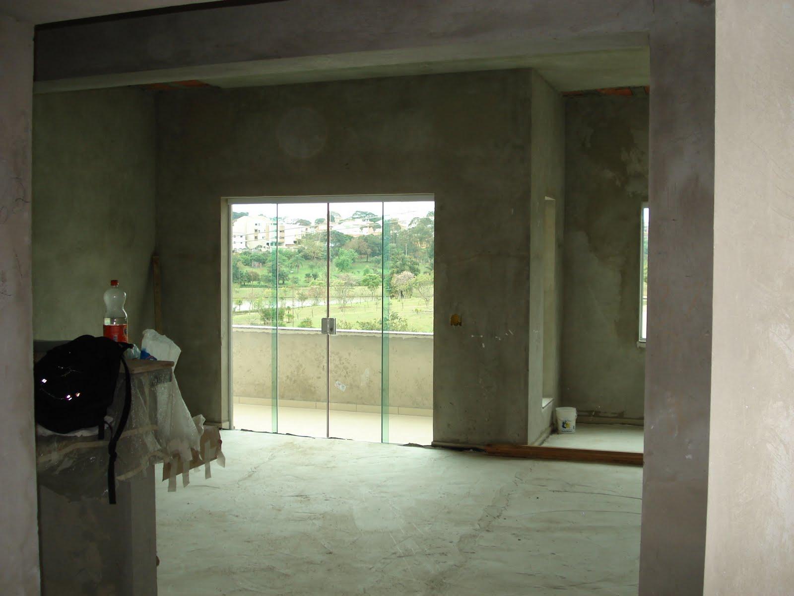 Porta De Vidro Para Sala De Jantar ~  dia a dia de uma construção A porta balcão da sala de jantar