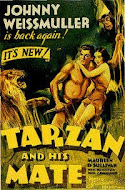 Tarzan and His Mate/ Johnny Weissmuller and Maureen O&#39;Sullivan