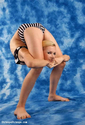 strange flexible women