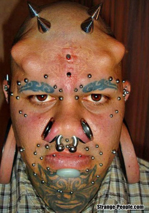 Strange Implants and Tattoo Pictures