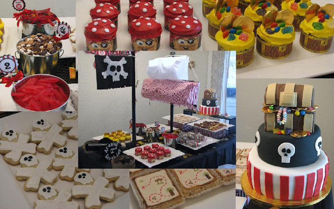 Arash&#39;s 2nd Birthday - Pirate Dessert Bar