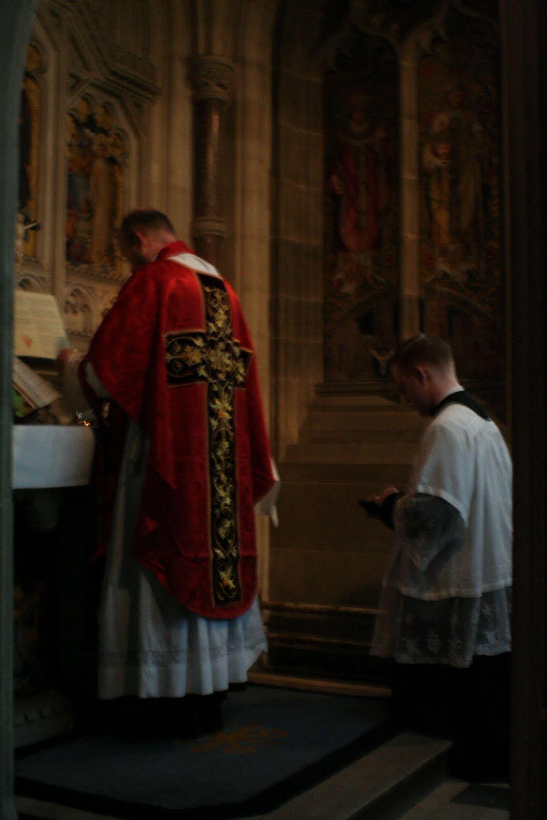 The Latin Mass Society RC Diocese of Middlesbrough: Ushaw Priests Training Conference - Private ...