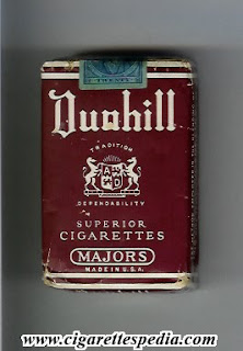 Cigarettes Dunhill in Europe brands