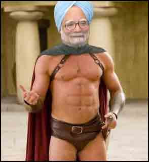 Manmohan Singh gets six-pack abs