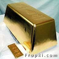 The Mitsubishi  Materials Corporation of Japan poured the World's largest Gold bar. The bar is  17.9 inches by 8.9 inches and 6.7 inches high. All though it takes up the same  amount of space as a large shoe box, you would not be able to lift it as It  weighs 551.15 pounds. At the time it was poured it was worth $3.7 million,World's Largest Gold Bar