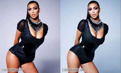 Entire Set of Kim Kardashian Complex Magazine Pictures