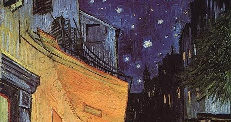 an analysis of light effects in the starry night by vincent van gogh How 'the starry night' explains the scientific mysteries of movement and light by raven fon in 1889, from his bedroom window in the asylum he checked himself into, vincent van gogh created one of the most recognized pieces of art in the history of mankind- and it has a surprising secret van gogh.