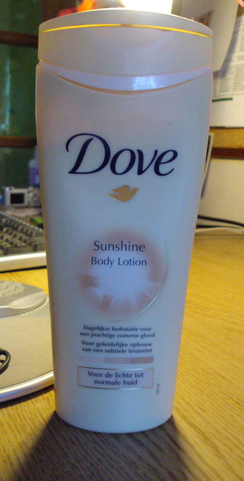 dove bodylotion bruining