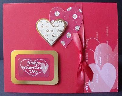 Happy Handmade Valentine's Day Card