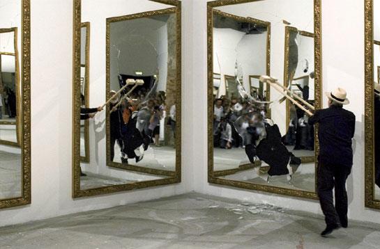 Il forum di teoderica ottobre 2010 - Michelangelo pistoletto specchi ...