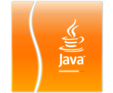 Java Logo Orange Box