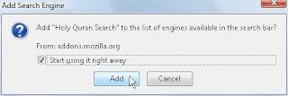 Instalasi Holy Quran Search