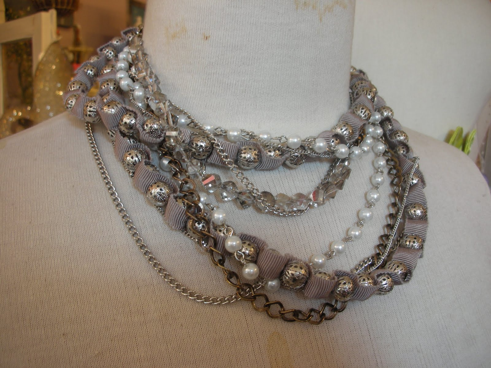 Wedding Bridesmaid Necklaces everything but the dress layered bridesmaid necklaces pair a sophisticated little black with cluster of stones shown above jolie 36 long flower necklace 29 alex agudo crystal ne