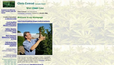 Chris Conrad, Cannabis, Hemp, Marijuana, Drug Policy, West Coast Leaf