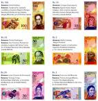 "CONOZCA LOS NUEVOS BILLETES Y MONEDAS ""BOLIVAR FUERTES"""