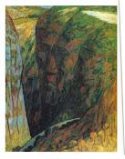 李石樵〈斷崖〉1961