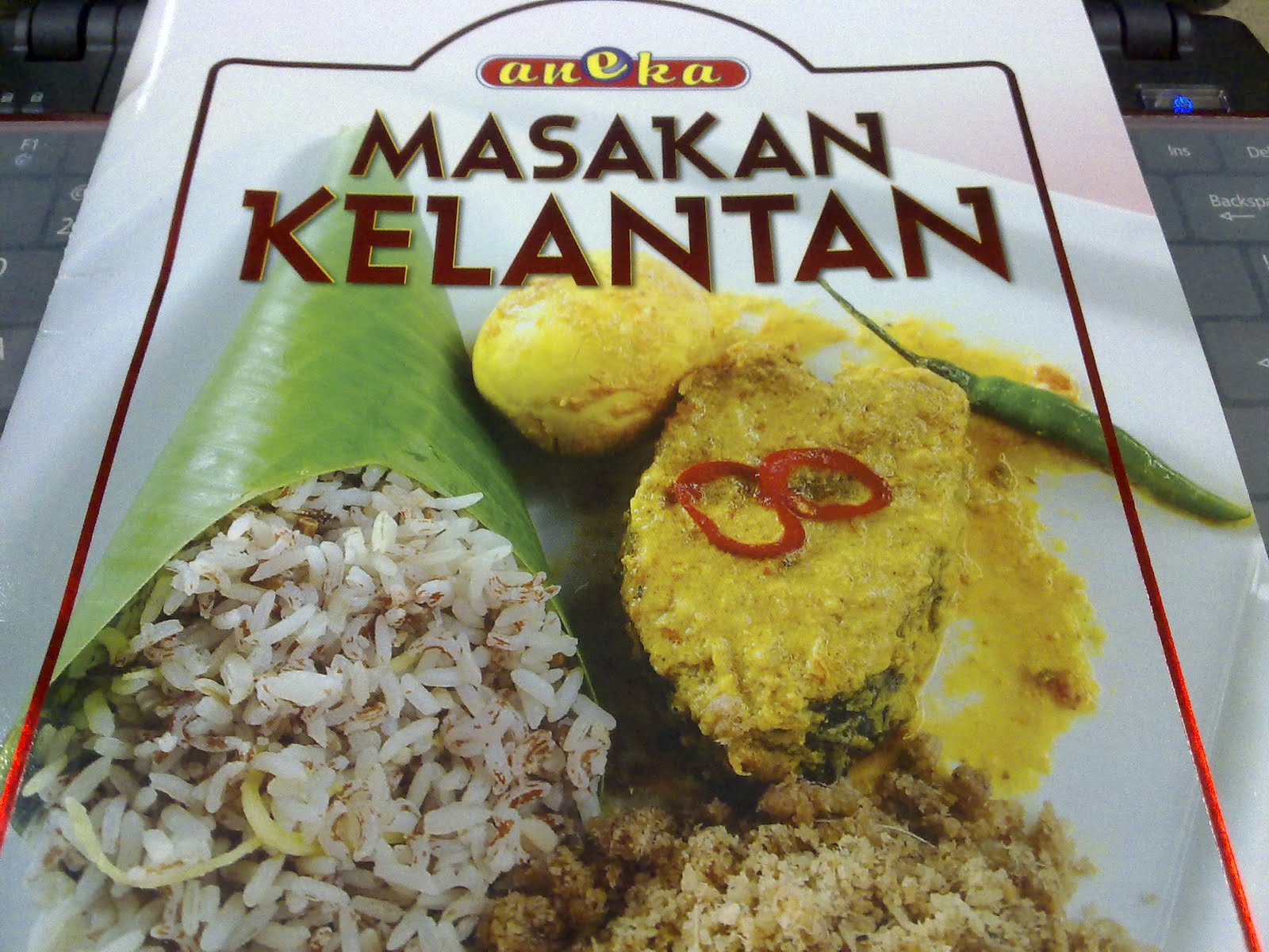 Buku Resepi Masakan Kelantan