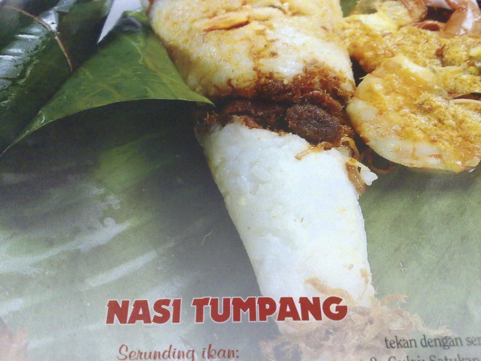 Nasi Tumpangsebab ada yang menumpang dalam nasi tu? hehehe