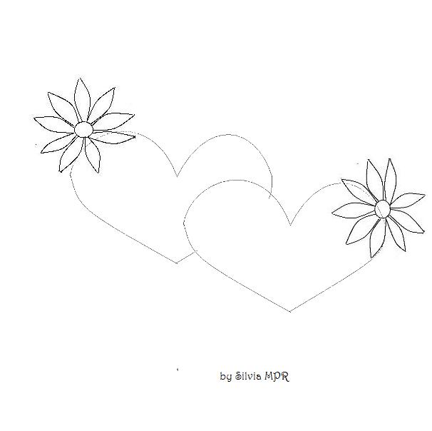 Dibujos de flores para pintar Botanical Online