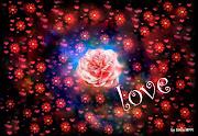 Imagenes de amor de corazones y rosas wallpapers romantico de amor con flores love