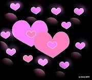 Imagenes De Amor: Imagenes de amor ,con dibujos de corazones para el dia de . (tarjetas amor )