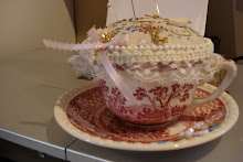 China cup pincushion